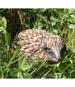 Wildlife Garden Igel handgeschnitzt