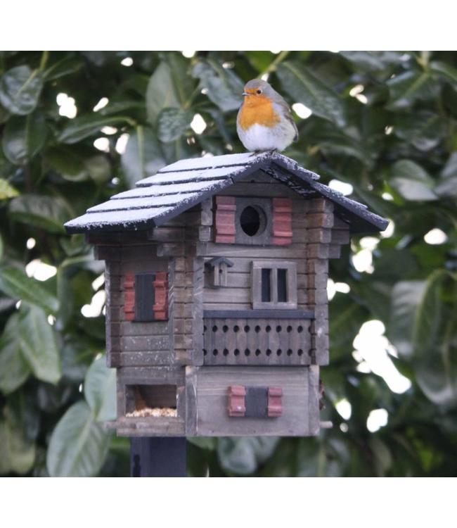"""Vogelfutterhaus & Nistkasten """"Alpenlandhaus"""""""
