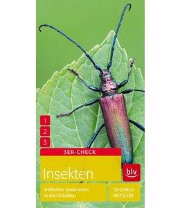 Insekten - Treffsicher bestimmen in drei Schritten