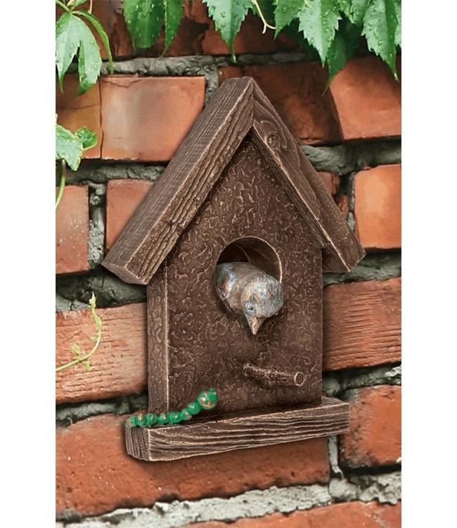 Vogelhäuschen Bronze