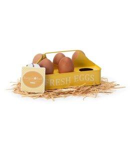 Eierhalter Vintage Eierhalter - auch zum Sammeln frisch gelegter Eier geeignet