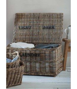 Wäschebox mit 2 Fächern für helle und dunkle Wäsche