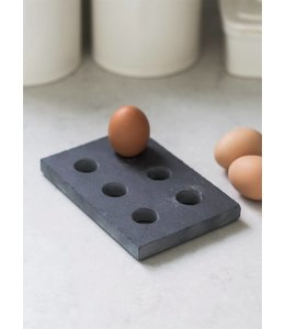 Eierhalter Vintage Eierhalter Naturschiefer