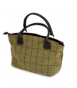 Tweed Handtasche - Klassisch, elegant und very British