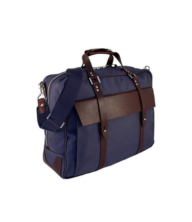 """Chapman Bags Business-Tasche """"Billingsgate Holdall"""" Navy, British Country Style"""
