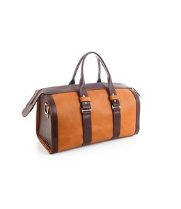 Bradleys Reisetasche Tan & Brown