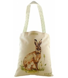 "Shopper Vintage Shopper Landhausstil ""Hase"""