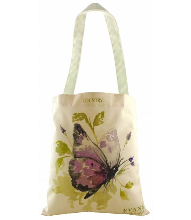 "Shopper Vintage Shopper Landhausstil ""Schmetterling"""