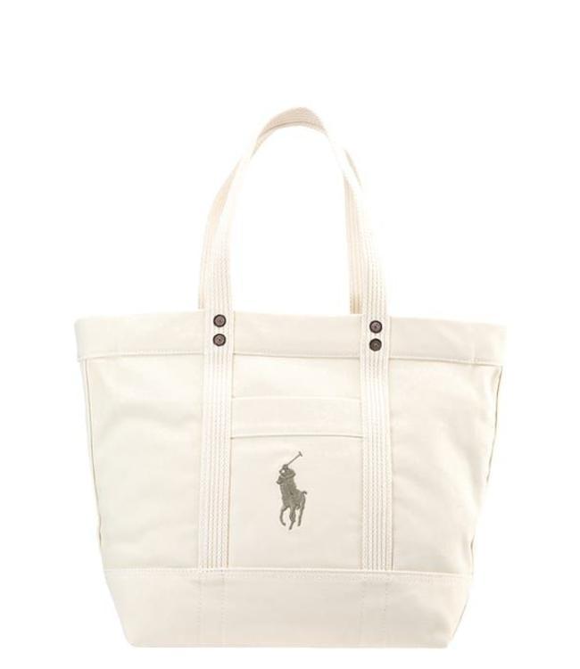 Ralph Lauren Shopping Bag, cream