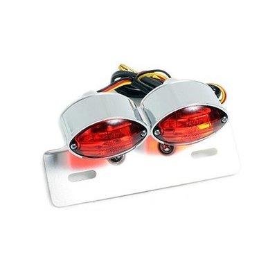 double cat eye taillight
