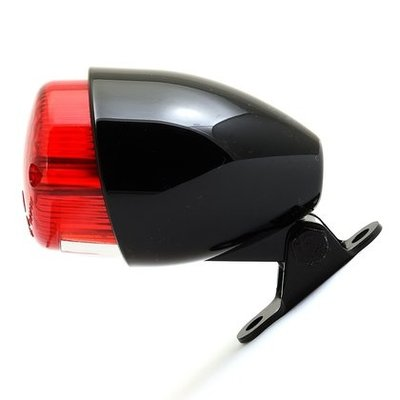 Mini Taillight Black / Red