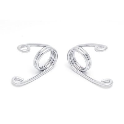 """2"""" Hairpin Springs Solo Seat Chrome - left and right wind - Copy"""