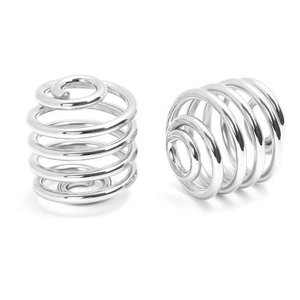 "2"" Springs Solo Seat Chrome"