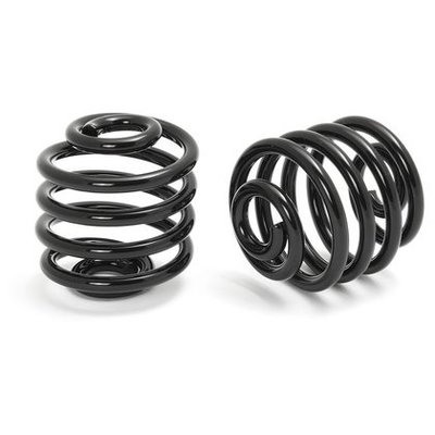 "2"" Springs Solo Seat Black"