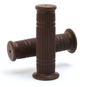 "Bundolo Grips dark brown voor 22 mm of 1"" stuur."