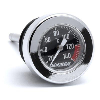 Dock 66 Oliepeilstok met temperatuurmeter voor Harley-Davidson