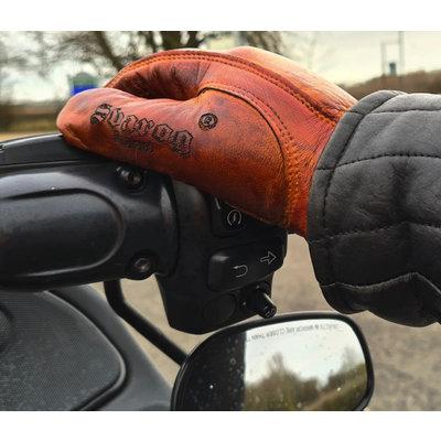 Svarog Svarog Eagle 7819 Real Leather Biker Gloves