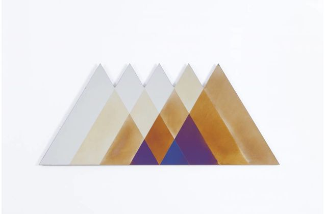 Lex Pott & David Derksen Large Transience Mirror Triangle