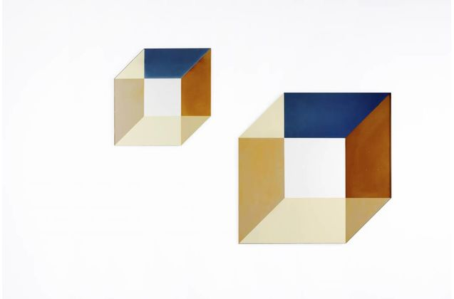 Lex Pott & David Derksen Cubic Transience Mirror