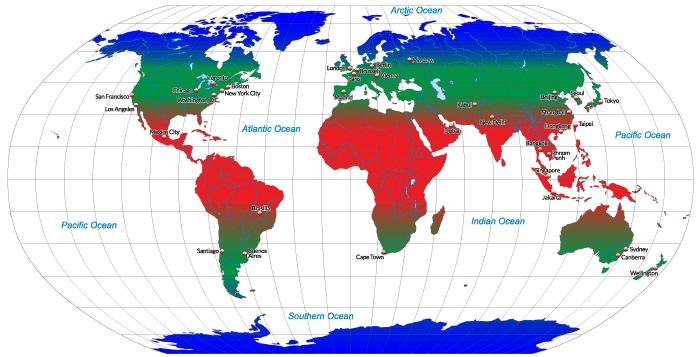 Clima propicio para el cultivo del azafrán.