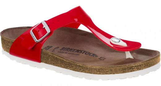Birkenstock Birkenstock Gizeh red patent size 35