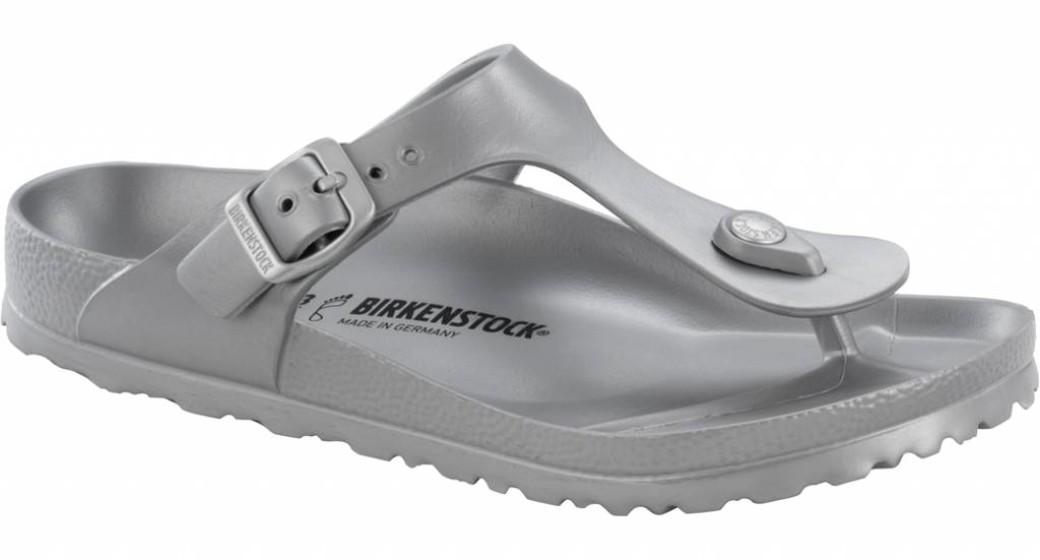 Birkenstock Gizeh eva metallic silver