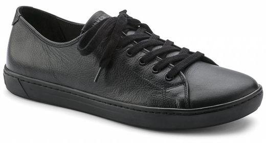 Birkenstock Birkenstock Arran men's black leather in 2 widths