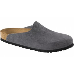 Birkenstock Amsterdam anthracite leather in 2 widths