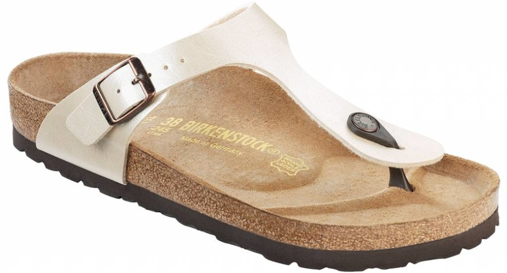 Birkenstock Gizeh graceful champagne for normal feet