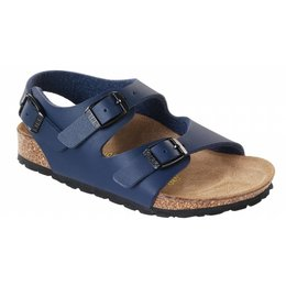 Birkenstock Roma kids blue for normal feet