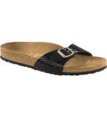 Birkenstock Birkenstock Madrid magic snake black for normal feet
