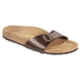Birkenstock Madrid Graceful Toffee for normal feet