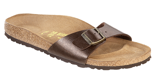 Birkenstock Birkenstock Madrid Graceful Toffee for normal feet