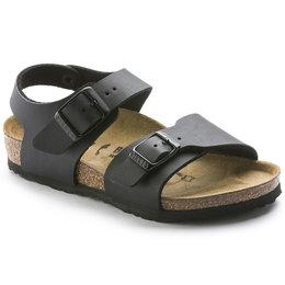 Birkenstock New york kids zwart voor normale voet