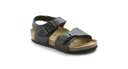 Birkenstock Birkenstock New york kids zwart voor normale voet