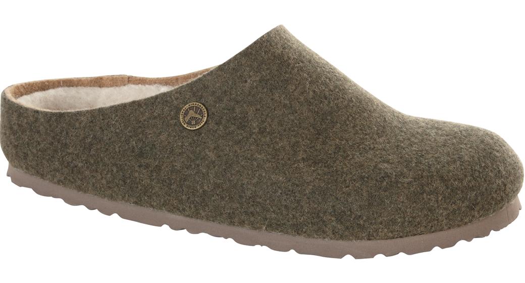 Birkenstock Kaprun double wool felt khaki for normal feet