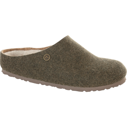 Birkenstock Kaprun dubbelvilt wol khaki voor normale voet