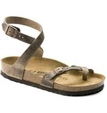Birkenstock Birkenstock Yara tabacco leather for normal feet