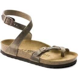 Birkenstock Yara tabacco leather for normal feet