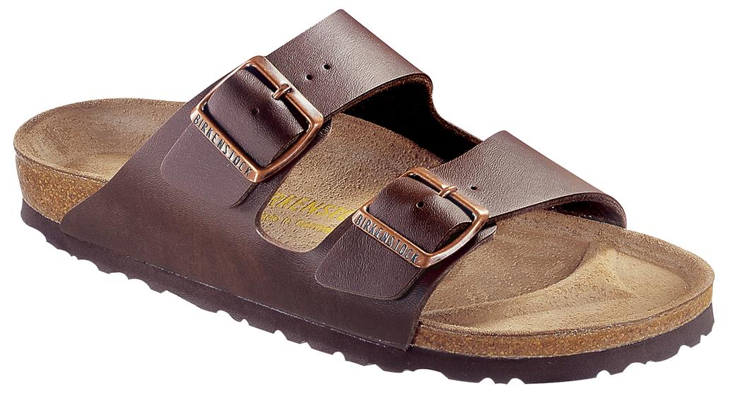 Birkenstock Arizona dark brown for wide feet