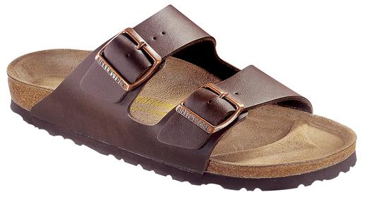 Birkenstock Birkenstock Arizona dark brown for wide feet