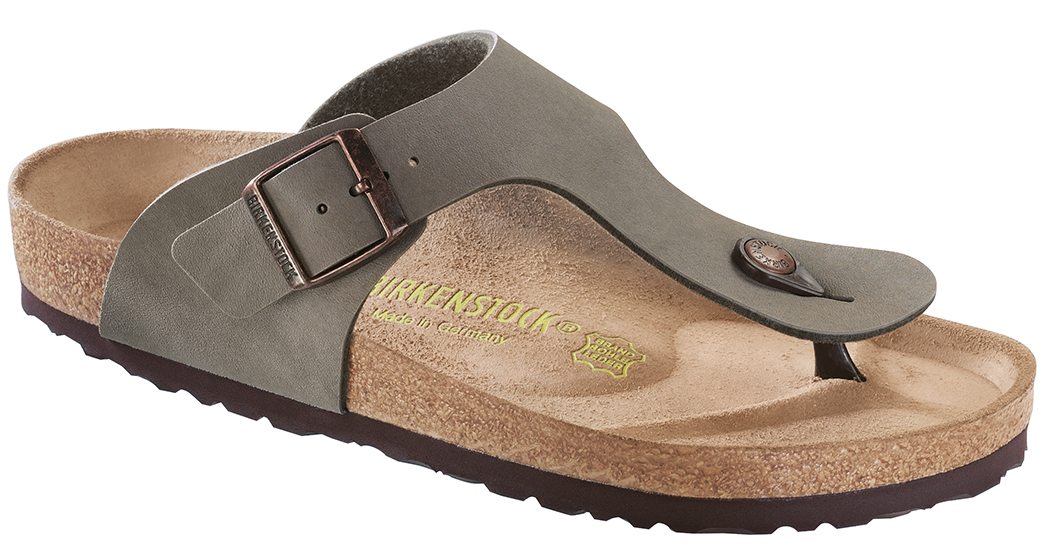 Birkenstock Ramses nubuck stone for normal feet