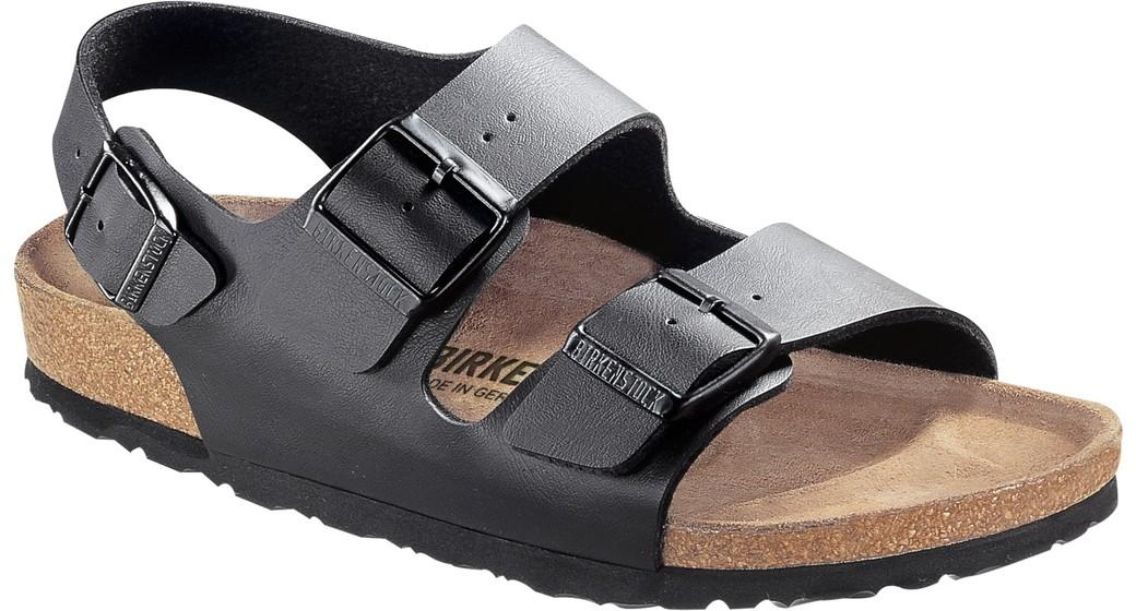 Birkenstock Milano black for wide feet