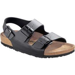 Birkenstock Milano zwart voor brede voet