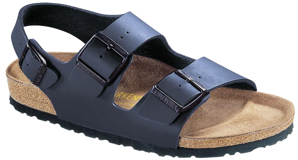 Birkenstock Milano blauw voor normale voet