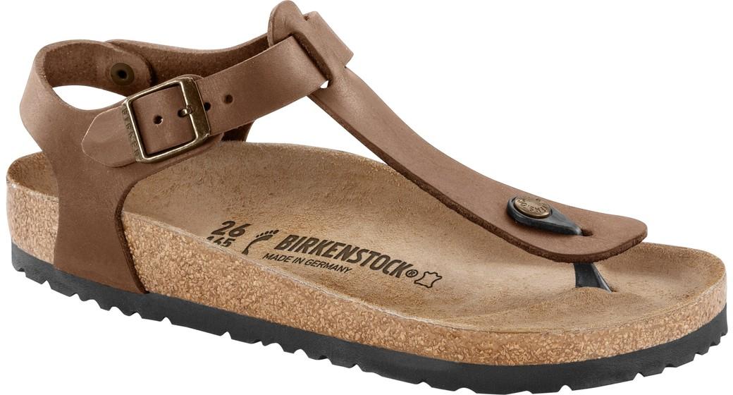 Birkenstock Kairo tabacco leather for normal feet