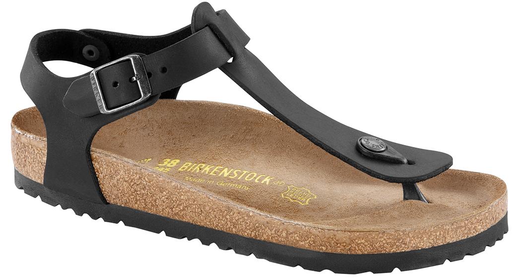 Birkenstock Kairo black oiled leather for narrow feet