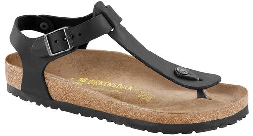 Birkenstock Birkenstock Kairo black oiled leather for normal feet