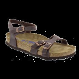 Birkenstock Kumba nubuck habana zacht voetbed voor normale voet