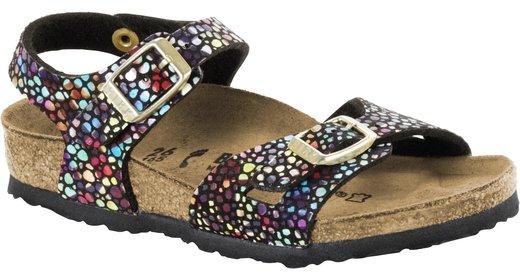 Birkenstock Birkenstock Rio kids oriental mosaic zwart voor normale voet